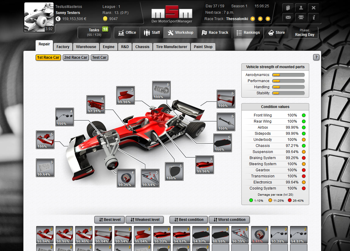 motorsportmanager msm management simulation browsergame. Black Bedroom Furniture Sets. Home Design Ideas